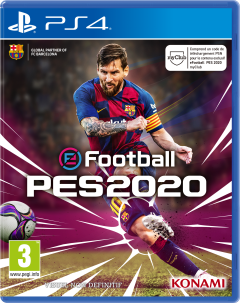 eFootball  PES 2020 sur PS4