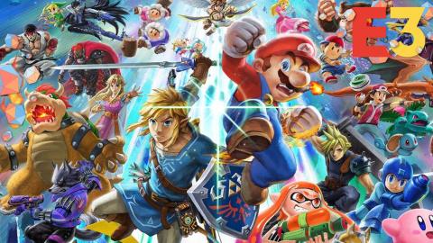 E3 : Super Smash Bros. Ultimate annonce ses nouveaux personnages