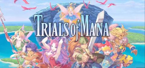 Trials of Mana sur PS4