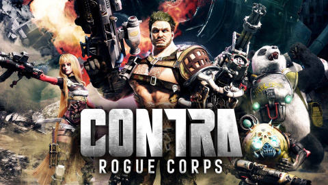Contra Rogue Corps sur Switch