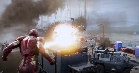 Interview S. Amos (Crystal Dynamics) : «Notre jeu est une lecture originale des Avengers, ça n'a jamais été un jeu issu des films»