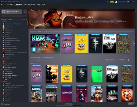 Steam nous présente sa nouvelle interface
