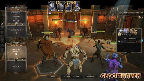 Gloomhaven : fini l'accès-anticipé, le tactical-RPG date sa sortie et fait le plein de gameplay