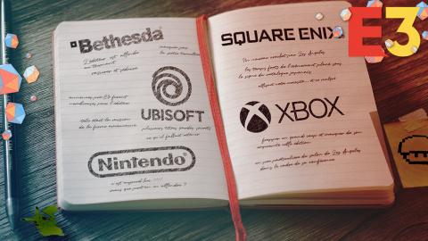 E3 : Le carnet de notes des 5 conférences majeures