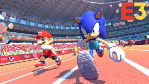 E3 : Mario & Sonic aux Jeux Olympiques de Tokyo 2020, prêts, partez, secouez!