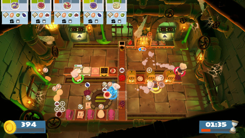 E3 2019 : Overcooked! 2 accueille un mode Horde avec le DLC Night Of The Hangry Horde