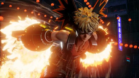 Jump Force : premières images explosives pour Katsuki Bakugo