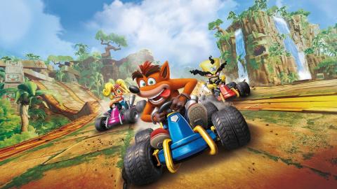 PS Store : Crash Team Racing Nitro-Fueled roule des mécaniques !