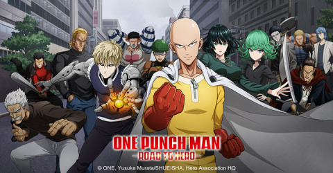 One Punch Man : Road to Hero sur iOS