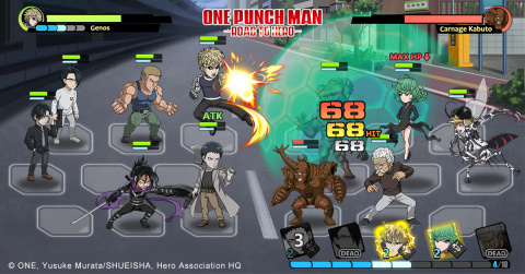 One Punch Man : Road to Hero va taper du poing sur nos appareils mobiles