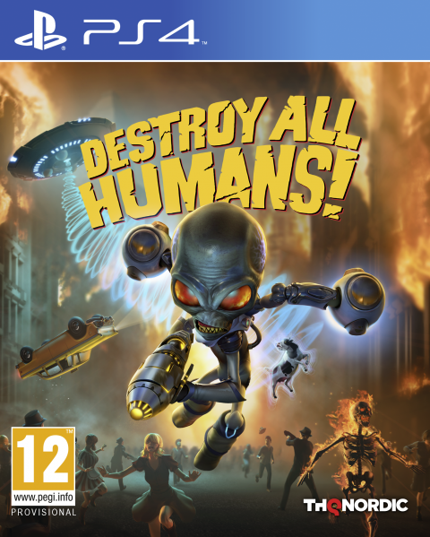 Destroy All Humans! - Remake sur PS4