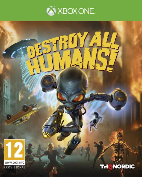 Destroy All Humans! - Remake sur ONE