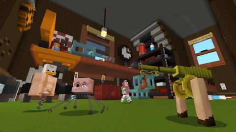Minecraft : Toy Story s'invite dans le monde cubique