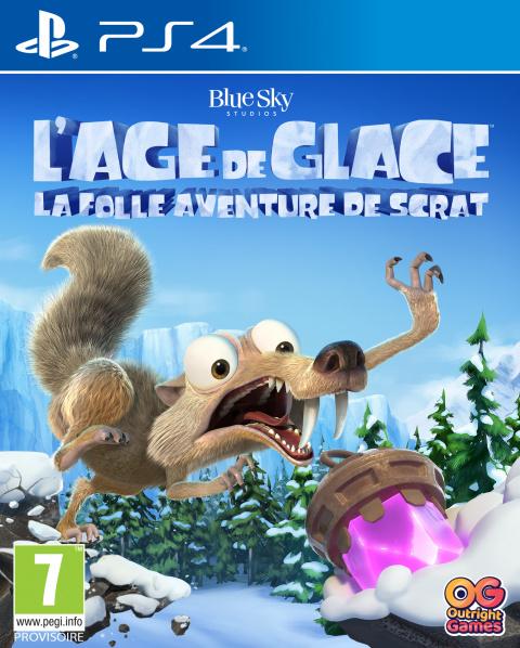 L'Âge de Glace : La folle aventure de Scrat sur PS4