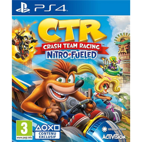 Crash Team Racing Nitro-Fueled sur PS4