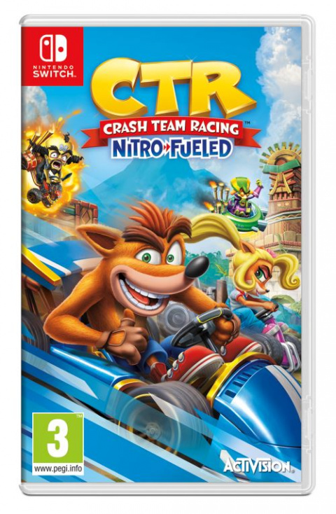 Crash Team Racing Nitro-Fueled sur Switch