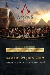 Assassin's Creed : La tournée mondiale de concerts dédiés à la série débute demain