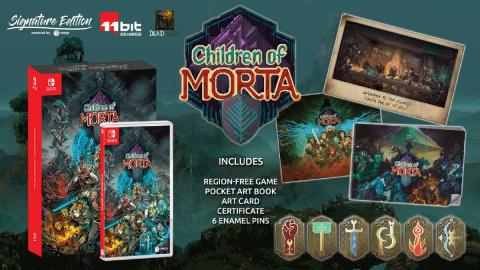 Children Of Morta, Northgard et Sparklite : leur date de sortie console et leur Signature Edition en détail