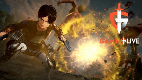"""L'Attaque des Titans 2 Final Battle : Libérer un territoire dans le mode """"Reconquête"""""""