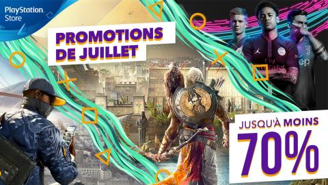 PS Store : c'est parti pour les promotions de juillet !