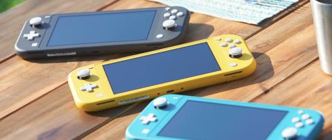 Nintendo Switch Lite : le modèle 100% portable et moins coûteux officialisé en vidéo