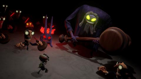 Psychonauts 2 : 3 minutes de gameplay en 4K avec nouveaux pouvoirs et histoire !