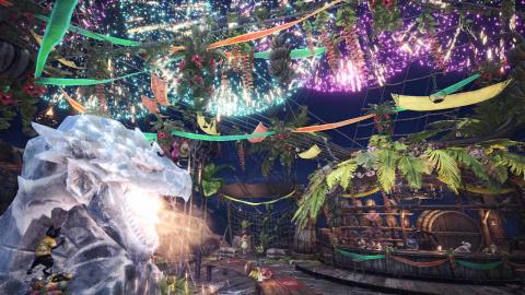 Monster Hunter World : les festivals d'Astera vont s'enchaîner à partir du 26 juillet