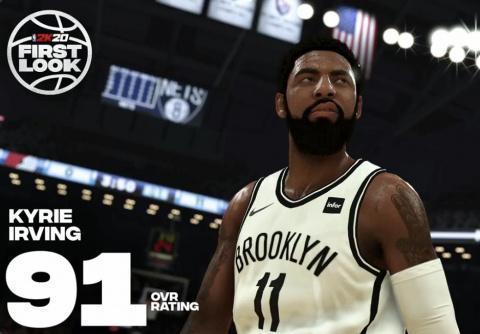 NBA 2K20 : LeBron James et Kawhi Leonard au sommet des notes de joueurs