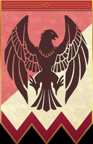 Héros de la Maison des Aigles de jais, Empire Adrestien