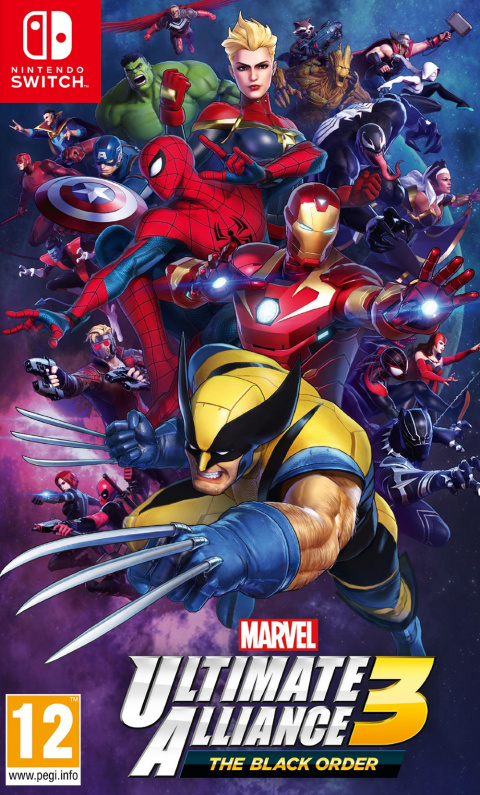 Marvel Ultimate Alliance 3 : The Black Order sur Switch