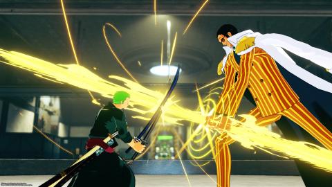 One Piece : World Seeker - Le Prototype-miroir Abyssal – Zoro pointé pour Ganbarion?