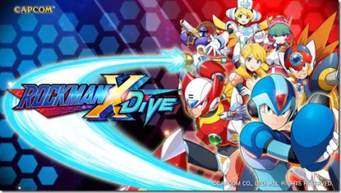 Mega Man X DiVE sur Android