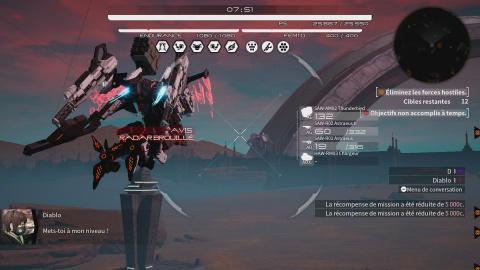 Daemon X Machina : de grandes idées mais des combats qui ne convainquent pas encore