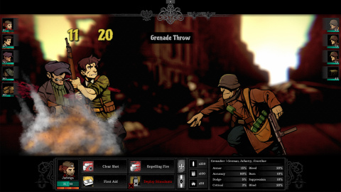 Warsaw : Plus qu'un clone de Darkest Dungeon ?