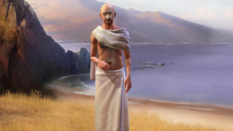 Gandhi dans Civilization : Un amour nucléaire