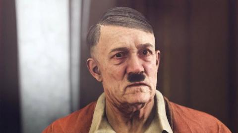 Hitler dans Wolfenstein II The New Colossus : Un nazi pourri gâteux