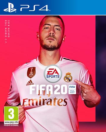 FIFA 20 : Eden Hazard et Virgil van Dijk en couverture