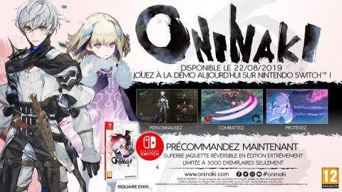 Oninaki : une édition physique limitée vendue sur la boutique Square Enix