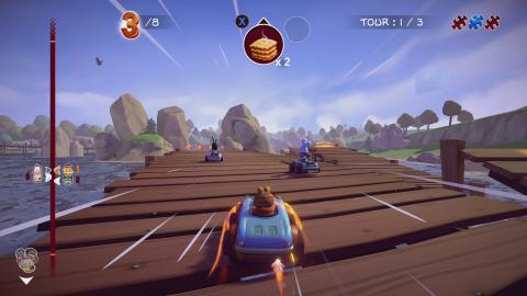 Microïds annonce un nouveau Garfield Kart