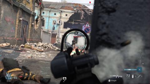 Call Of Duty Modern Warfare en promotion