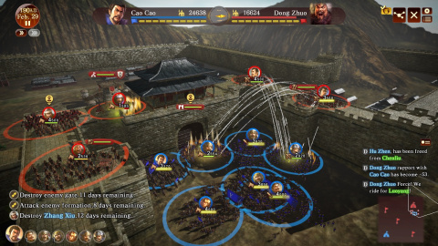 Romance of The Three Kingdoms : Le retour de la série annoncé par Koei Tecmo Europe