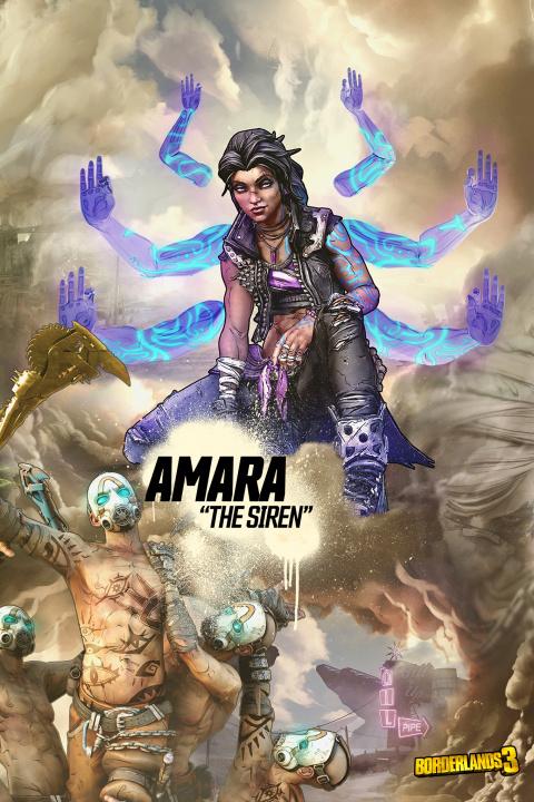 Borderlands 3 : Amara la Sirène montre ses capacités