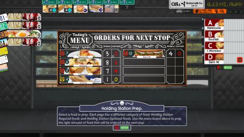 Cook, Serve, Delicious ! 3 se trouve une fenêtre de sortie sur PC et consoles