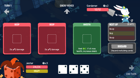 Dicey Dungeons : Un Rogue-Like d'une intelligence redoutable !