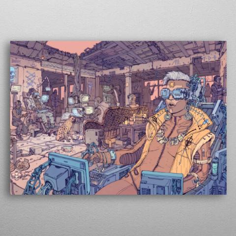 Cyberpunk 2077 : Une collection de posters métalliques commercialisée