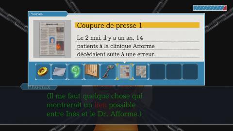 Phoenix Wright : Ace Attorney Trilogy, les sous-titres en français arrivent