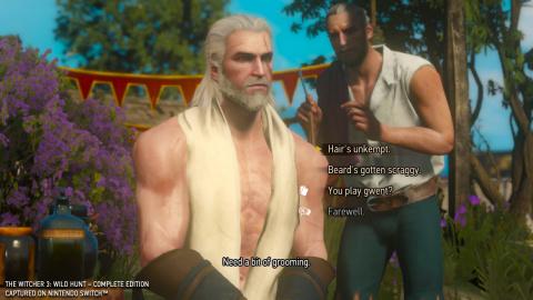 The Witcher 3 : Wild Hunt Complete Edition - Premier contact avec le portage Switch