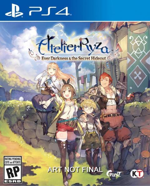 Atelier Ryza : Ever Darkness & the Secret Hideout sur PS4