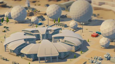 Two Point Hospital annonce une extension en provenance de l'espace