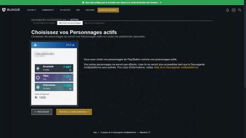 Destiny 2 : le cross-save et le transfert de compte Battle.Net vers Steam disponibles !